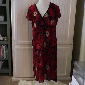 BELIEVE WOMAN RED DRESS 24W
